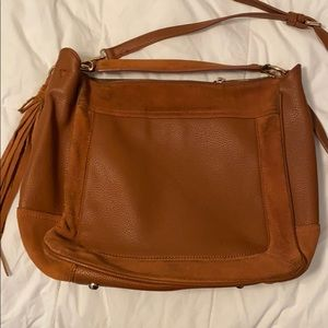 Mods Luxe Leather Suede Bag (SUBMIT AN OFFER) -E17
